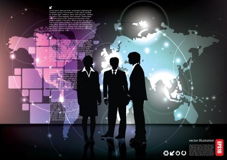 mensen uit het bedrijfsleven op technische achtergrond