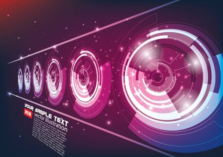 Abstract technology background Stock Vector - 16029712