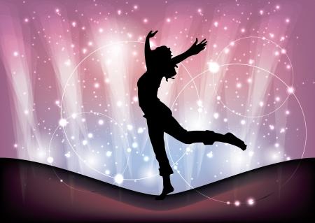 magic ballet background Stock Vector - 16524644