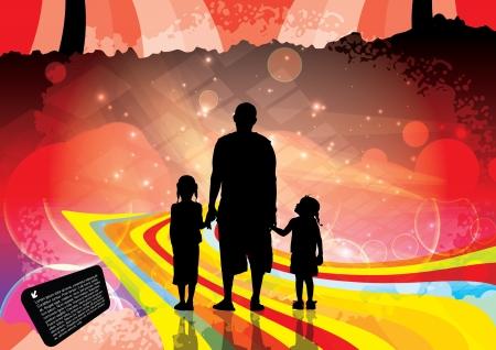towards: family background  Illustration