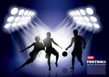 football background  Stock Vector - 16833055