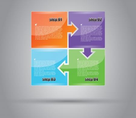registry: Business Diagram Concept  Illustration
