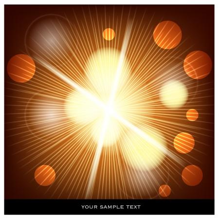 big bang theory: explosion background  Illustration