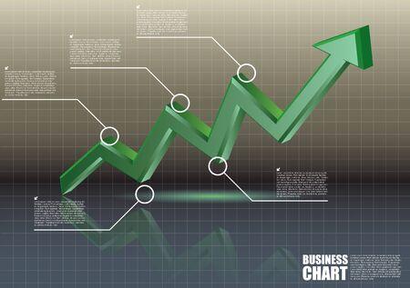 chart concept  Stock Vector - 16933293