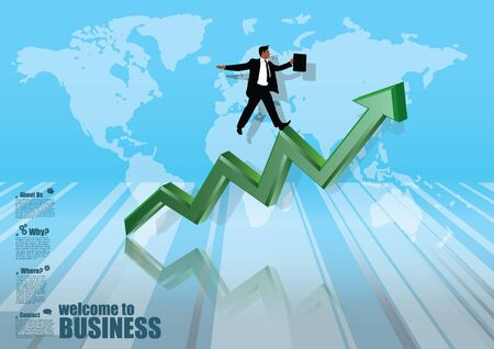 business background Stock Vector - 17390227