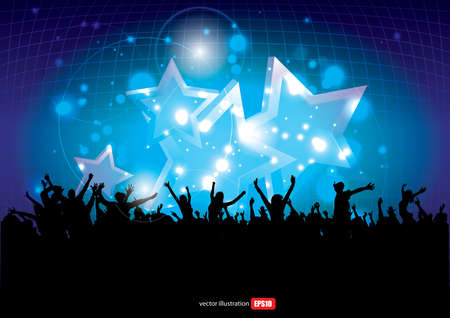 Party Background Stock Vector - 17967734