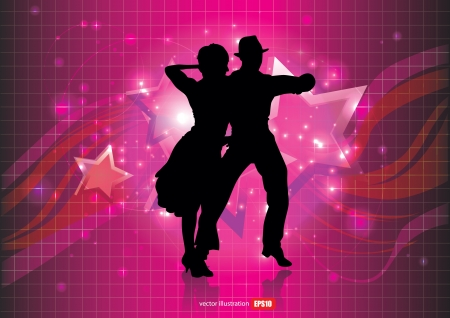 baile latino: personas bailando fondo