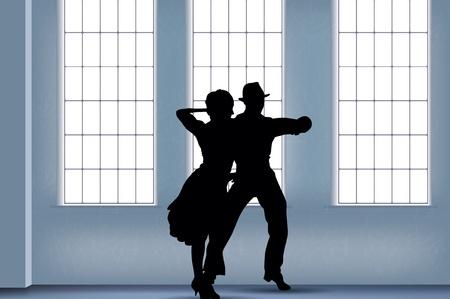 Menschen tanzen Hintergrund Standard-Bild - 17967778