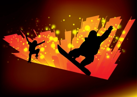 skateboarding background   photo