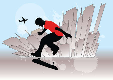 skateboarding background   photo