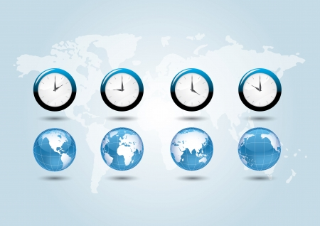 time zones: world time zones