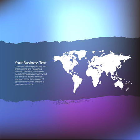 longitude: Business Template Illustration