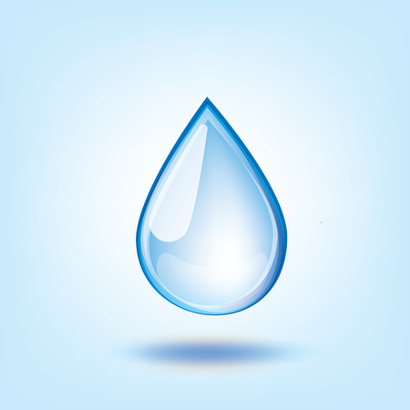 water conservation: Blue Water Drop