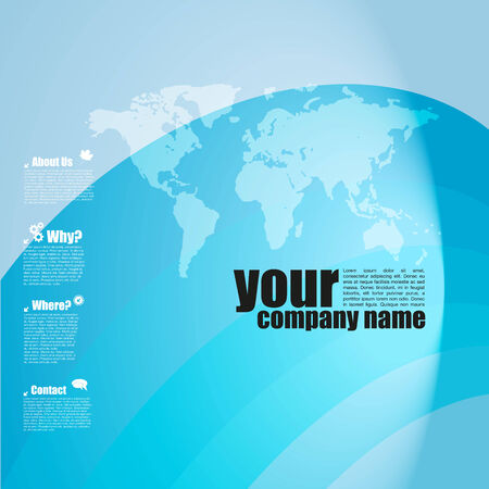 Business Template photo