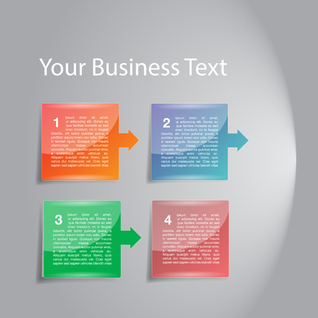 Business Diagram Template photo