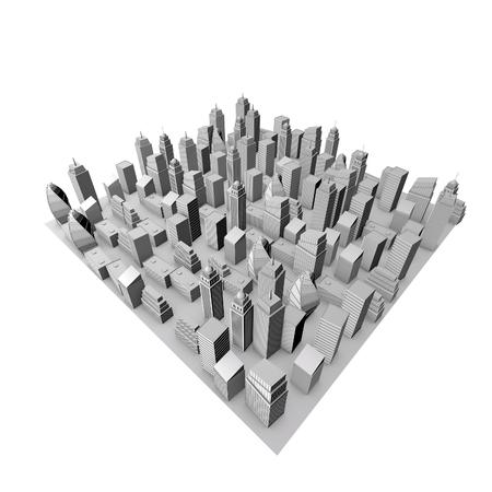 3d model: 3D City Model