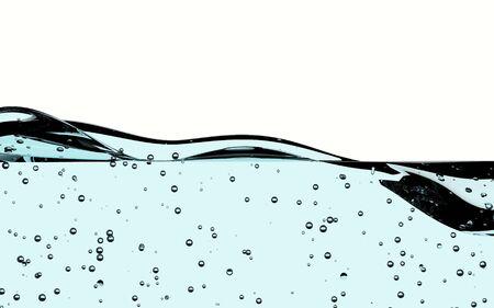 ondas de agua: Ondas de agua de fondo