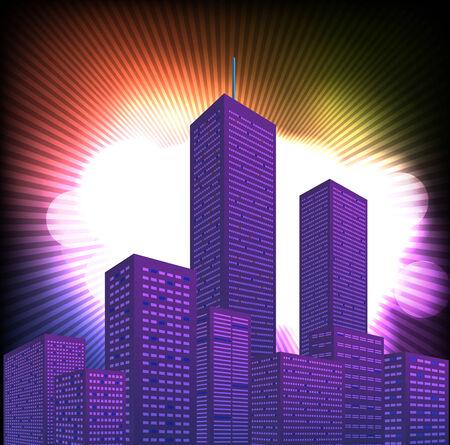 city background: City Background Stock Photo