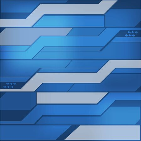 blue metal: abstract technology background