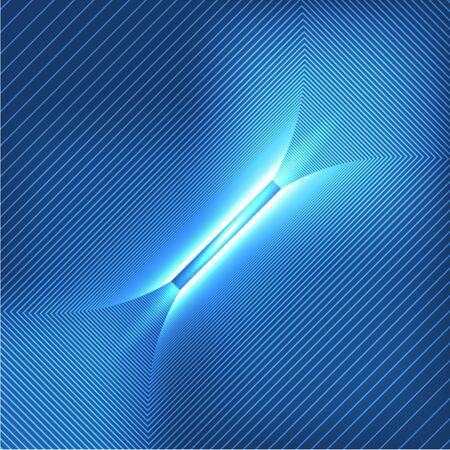 techno: Blue Technology Background