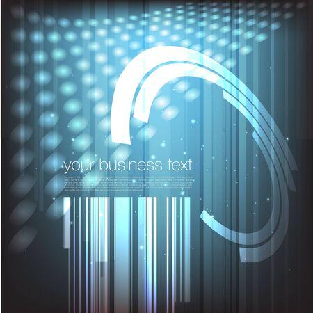 laser lights: Futuristic technical background