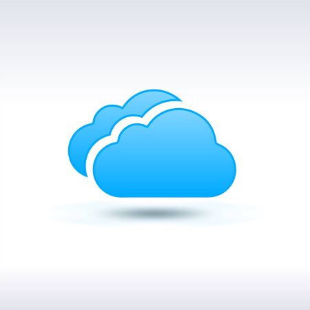wheather forecast: Blue Clouds Icon