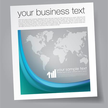magazine template: business magazine template