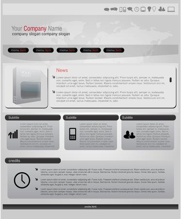 website: Modern Website Template