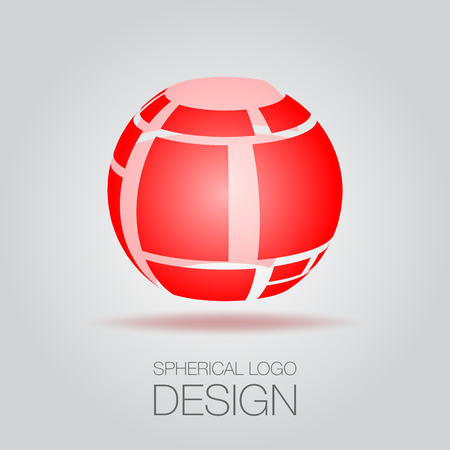 Spherical Logo Concept Illustration