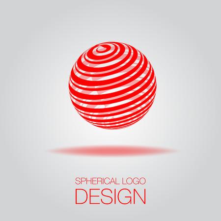 3D Spherical Illustration