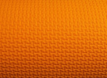 padding: design on a foam yoga mat Stock Photo
