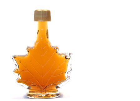 Pure maple syrup for pancakes and waffles Banco de Imagens