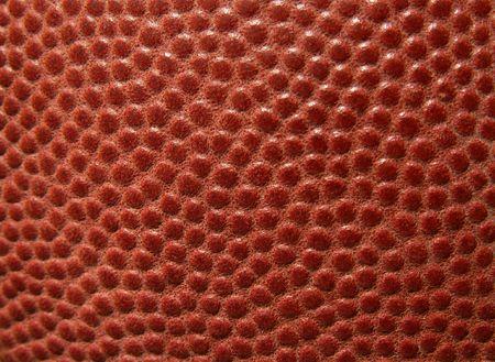 football leather macro photo