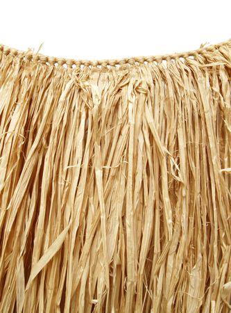 grass hula skirt for a Hawaiian luau