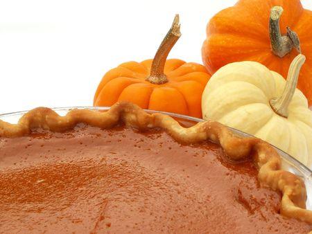 Thanksgiving pumpkin pie Stock Photo - 592820
