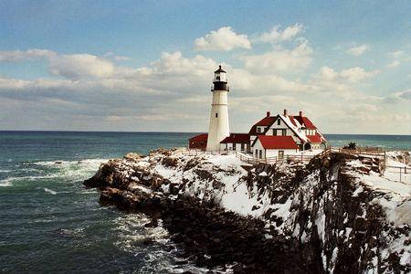 ポートランド ヘッド軽い灯台