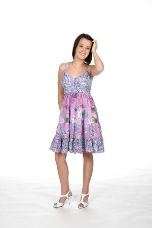 adolescente en el estilo de vestir cute  Foto de archivo - 3320640