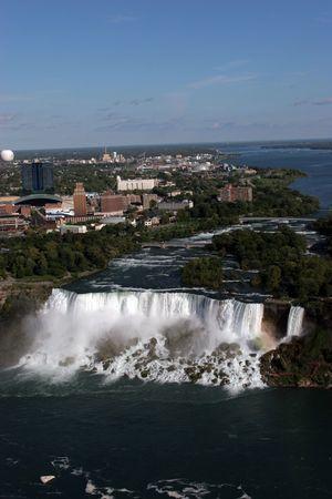 popular: pretty view of Niagara Falls, popular tourist destination
