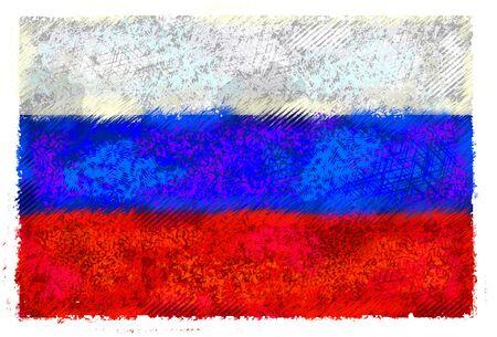 러시아 연방의 깃발