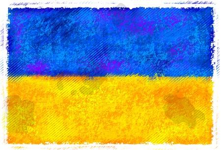 ウクライナの旗の図面