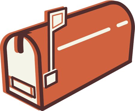 Illustration of a mail box