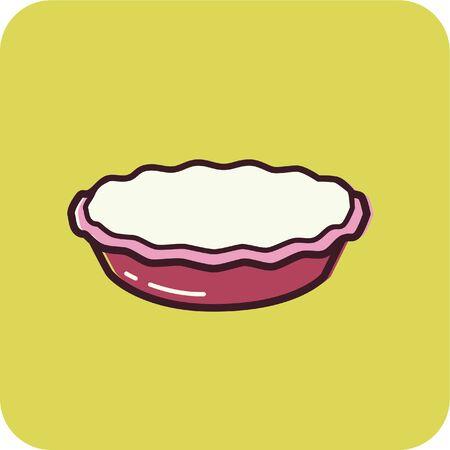 パイのイラスト