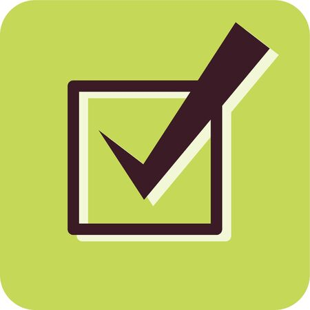 tickbox: Illustration of a checkmark in a checkbox