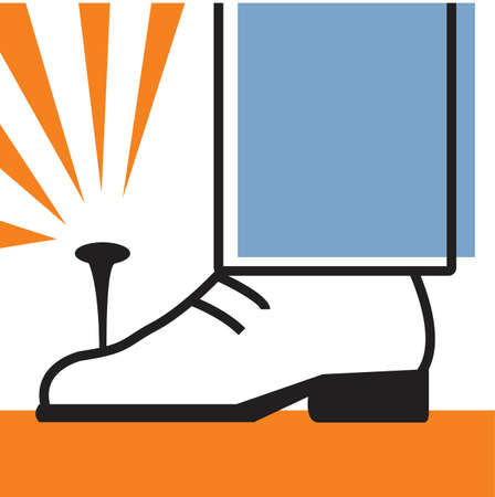 careless: Nail in shoe