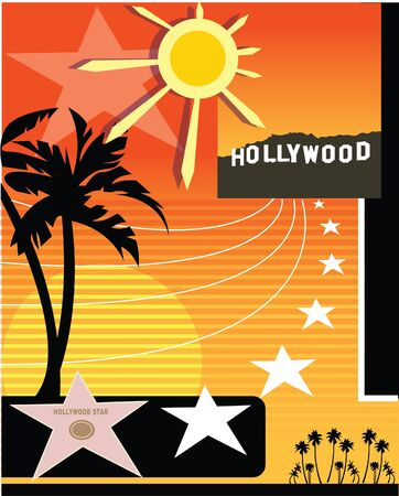 walk of fame: A Hollywood based collage