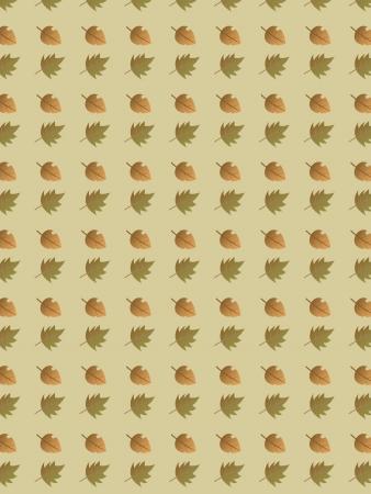 秋の葉のパターン 写真素材