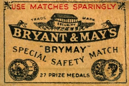 matchbox: vintage matchbook cover