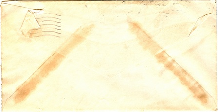 vintage envelope Stock Photo - 14914347