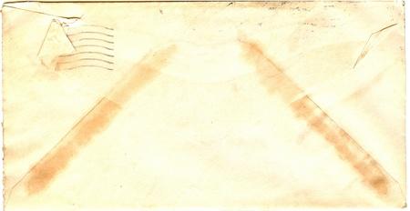 old envelope: vintage envelope Stock Photo
