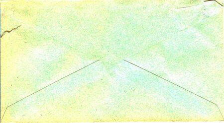 old envelope: back of a vintage envelope